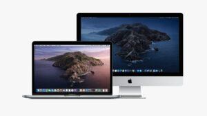 macOS Catalina no MacBook Pro e iMac