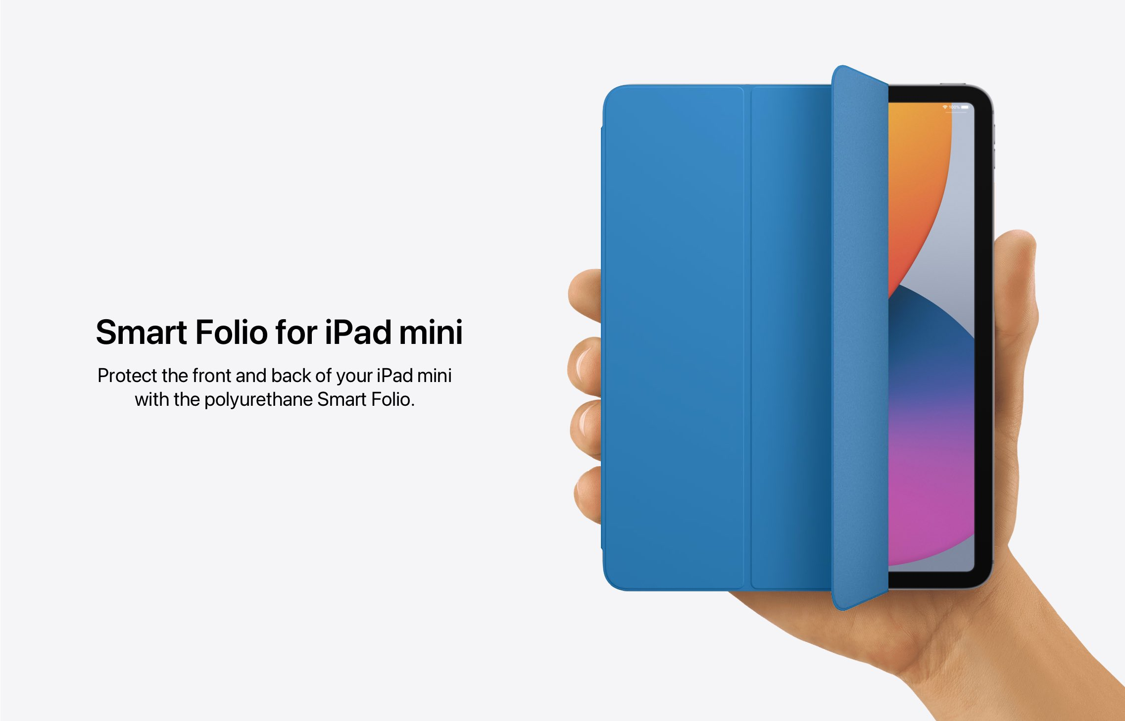 Conceito: Smart Folio para iPad mini