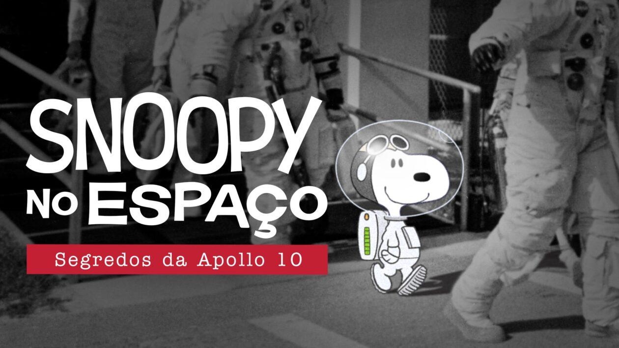 Pôster de Snoopy no Espaço: Segredos da Apollo 10