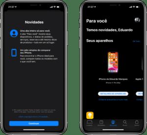 Novidades da versão 5.9 do app Apple Store