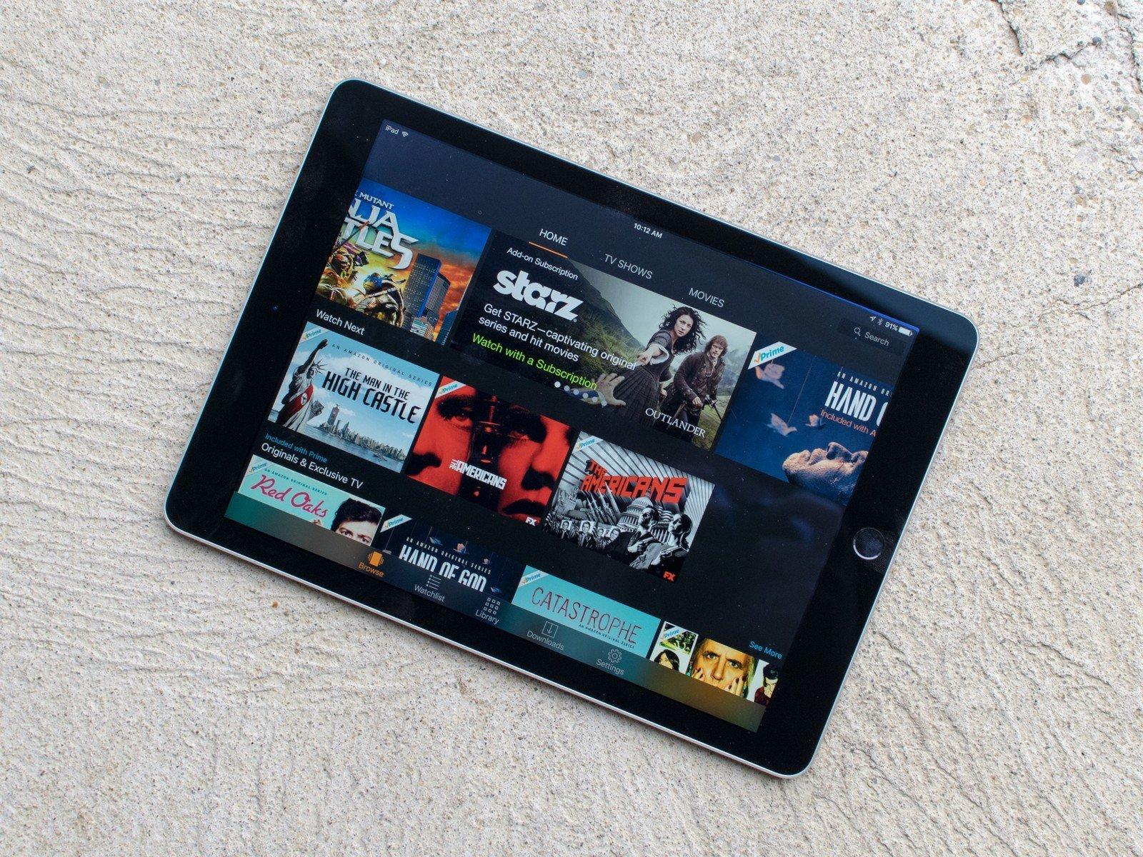 Amazon Prime Video no iPad