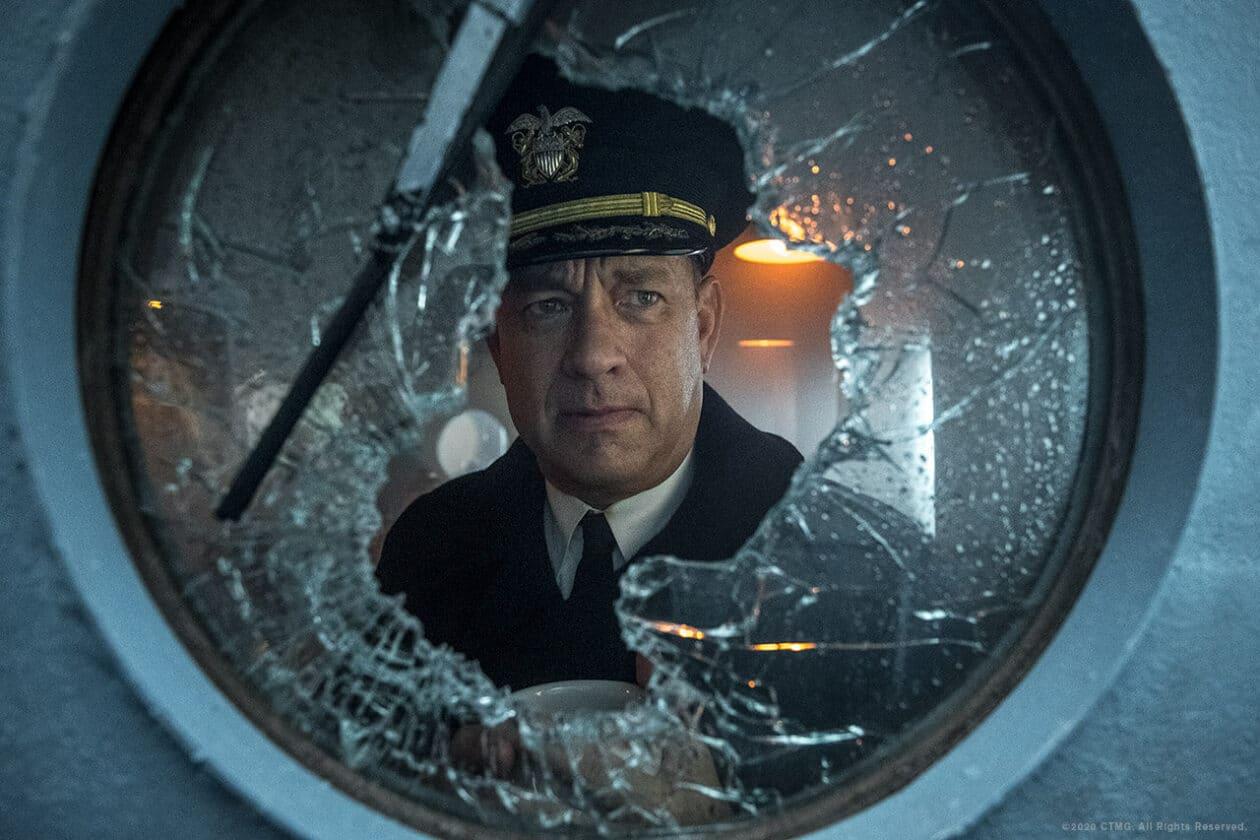 "Tom Hanks em ""Greyhound"""