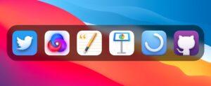 Ícones adaptados para o macOS Big Sur por Stijn de Vries