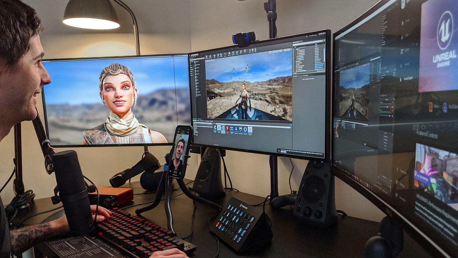 Live Link Face, app de expressões faciais via ARKit da Epic Games