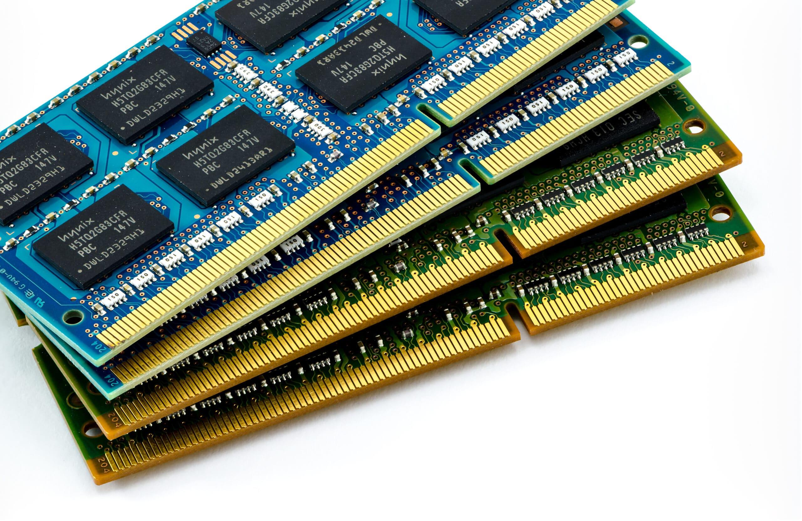 Pentes de memória RAM DDR