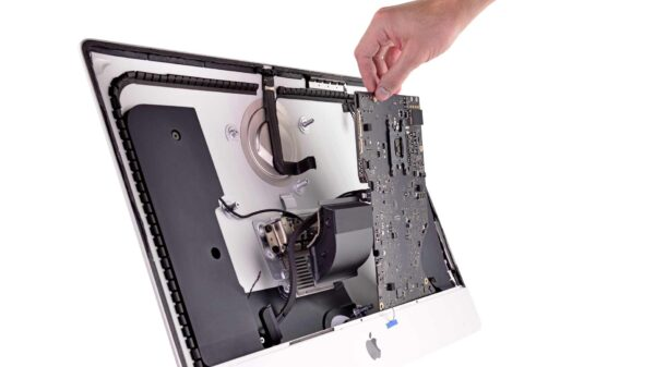 Interior do iMac 2019