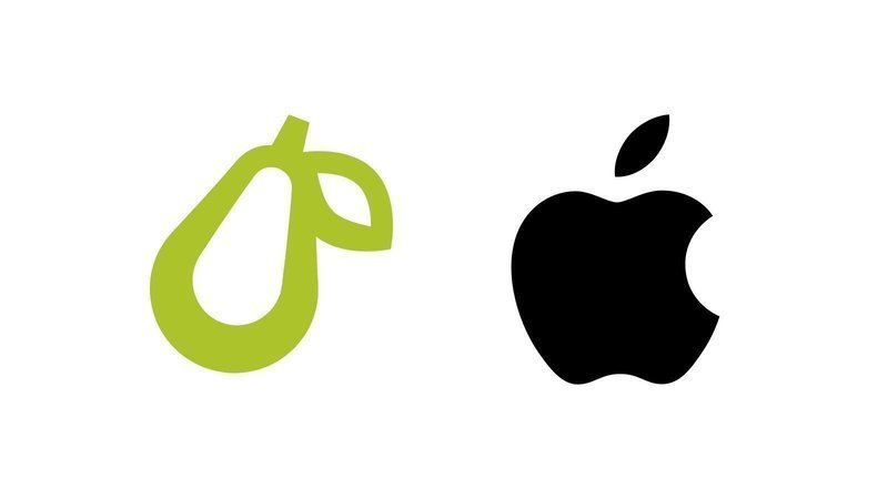 Logos da Prepear e da Apple