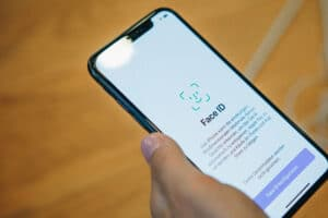 Face ID em iPhone