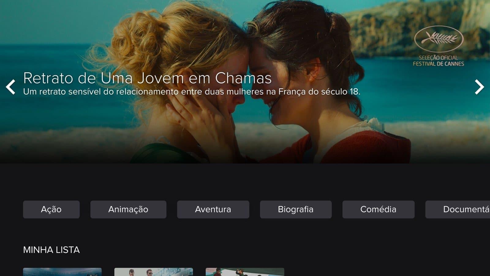 Review do app Telecine