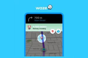 Passagem de nível do Waze