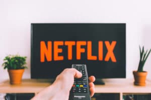 Netflix em uma TV