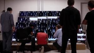 Hyperwall, parede de apps da WWDC 2010