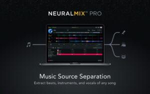 Neural Mix Pro, da Algoriddim