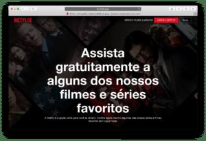 Promoção da Netflix