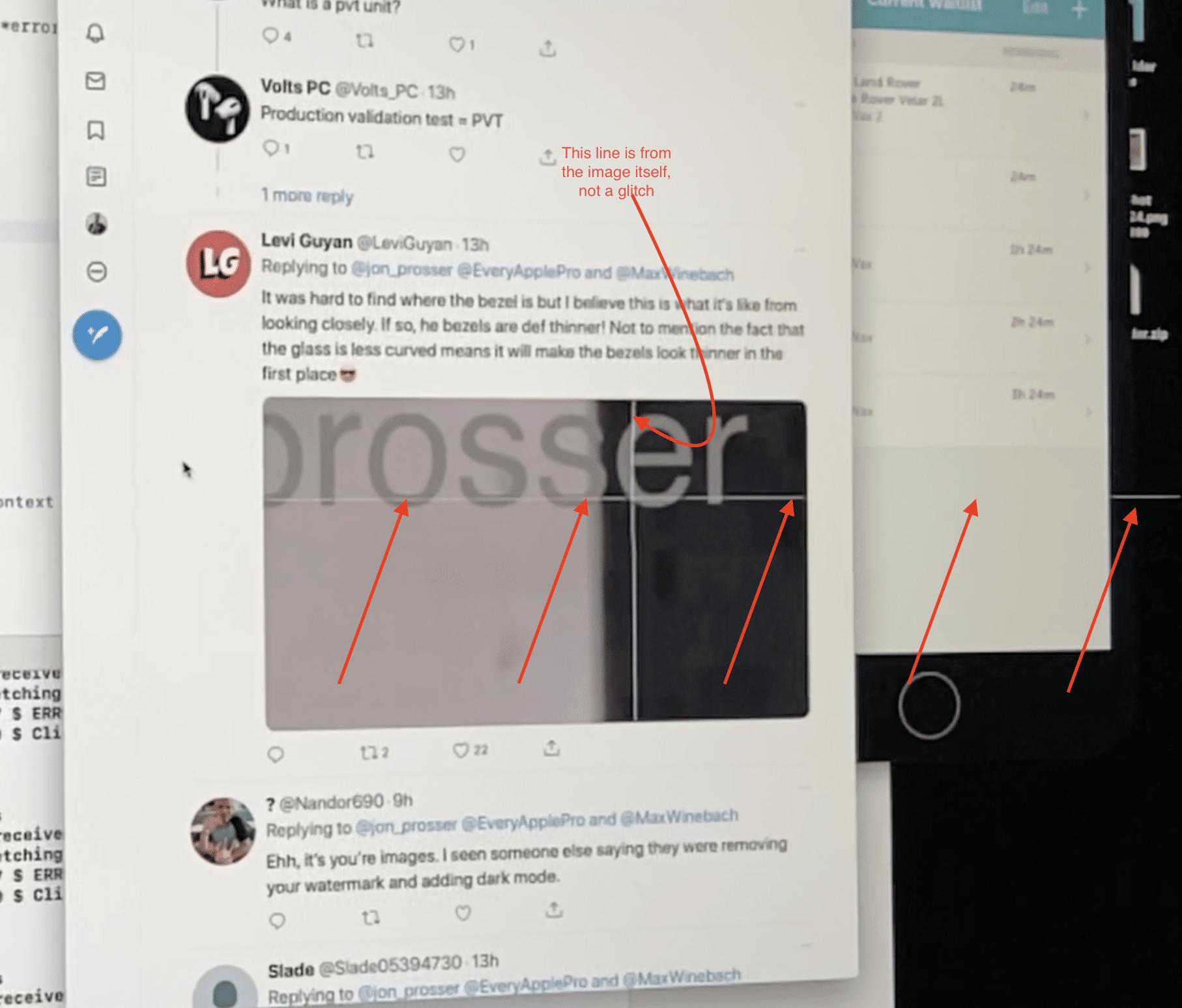 Falha na tela de iMacs (2020)