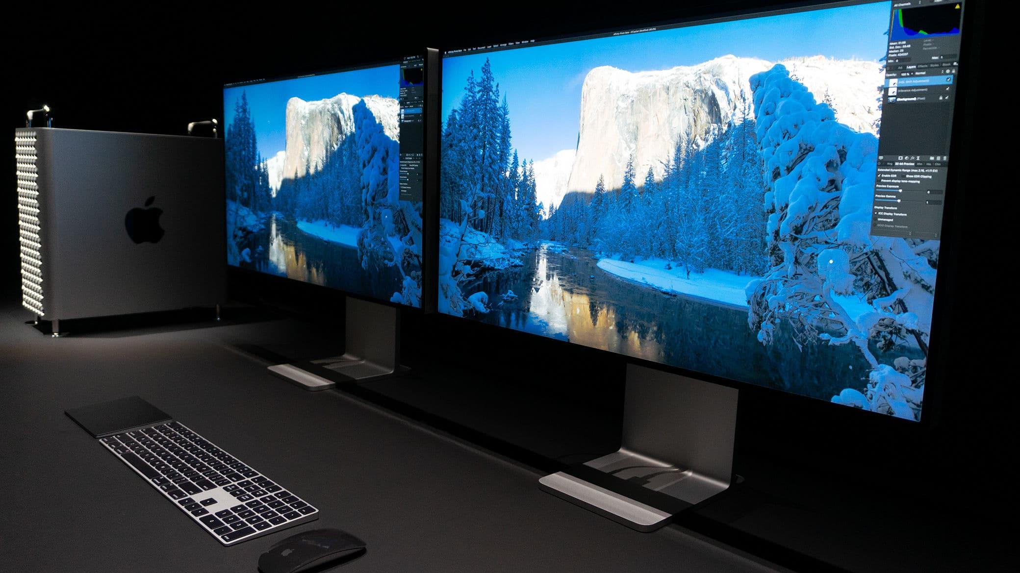 Pro Display XDR com vidro nano-texture
