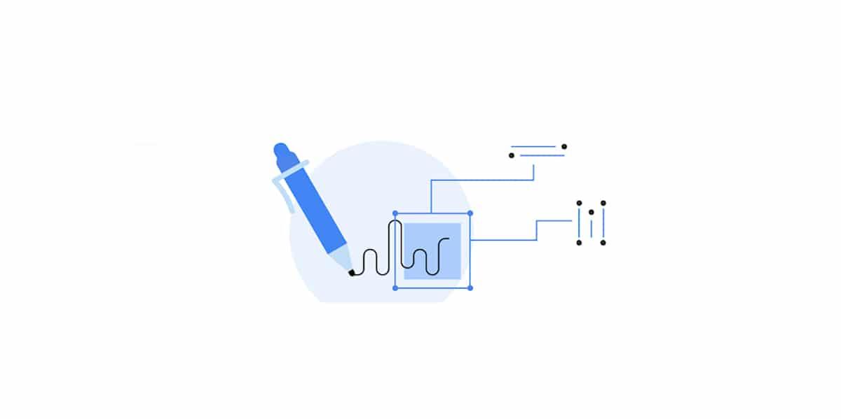 API para reconhecimento de escrita à mão do Google