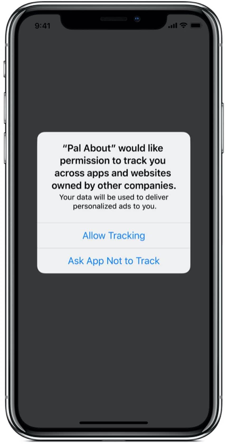Anúncios no iOS 14