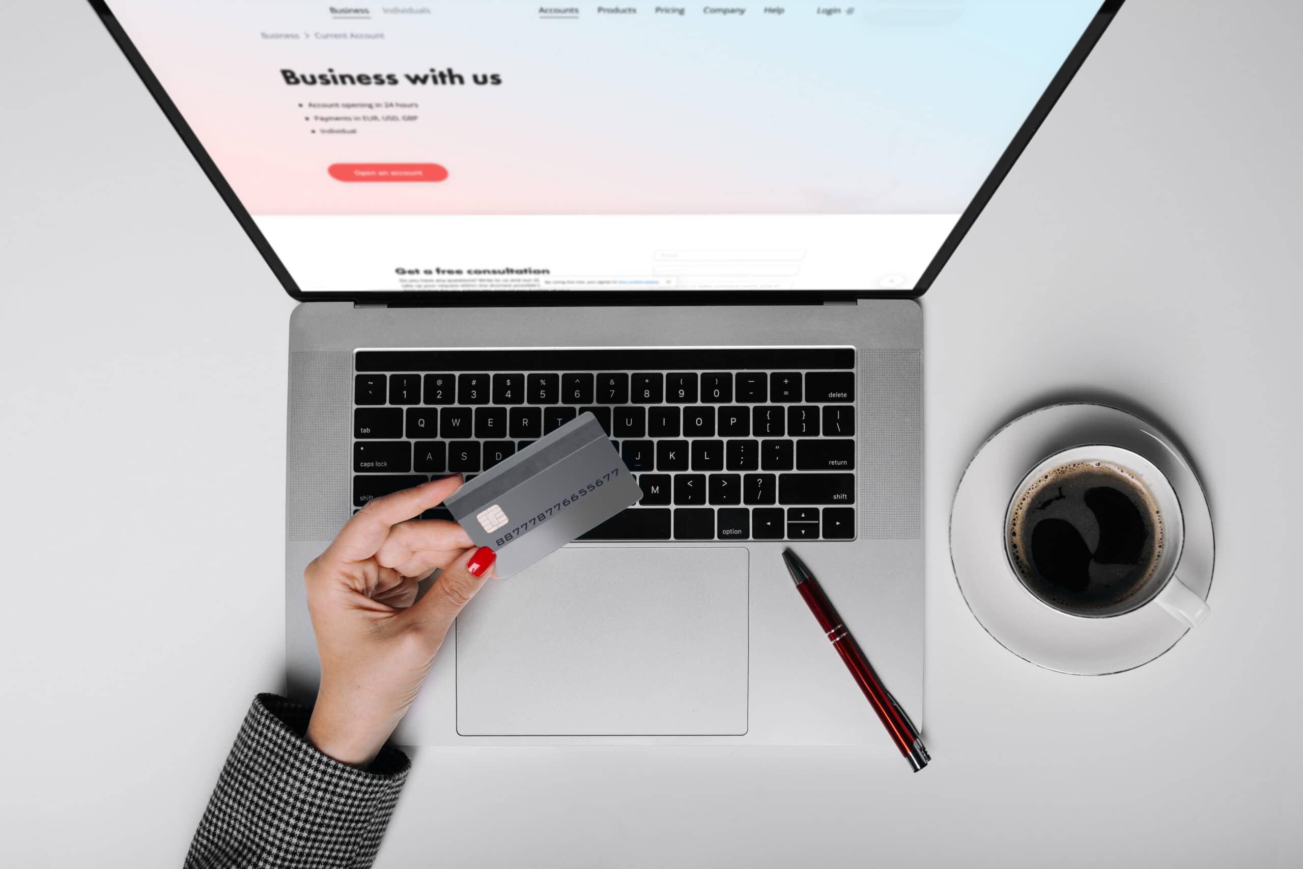 Cartão de crédito e Mac