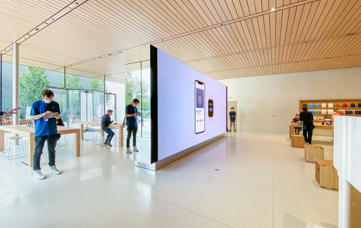 Video Wall da Apple Cherry Hill