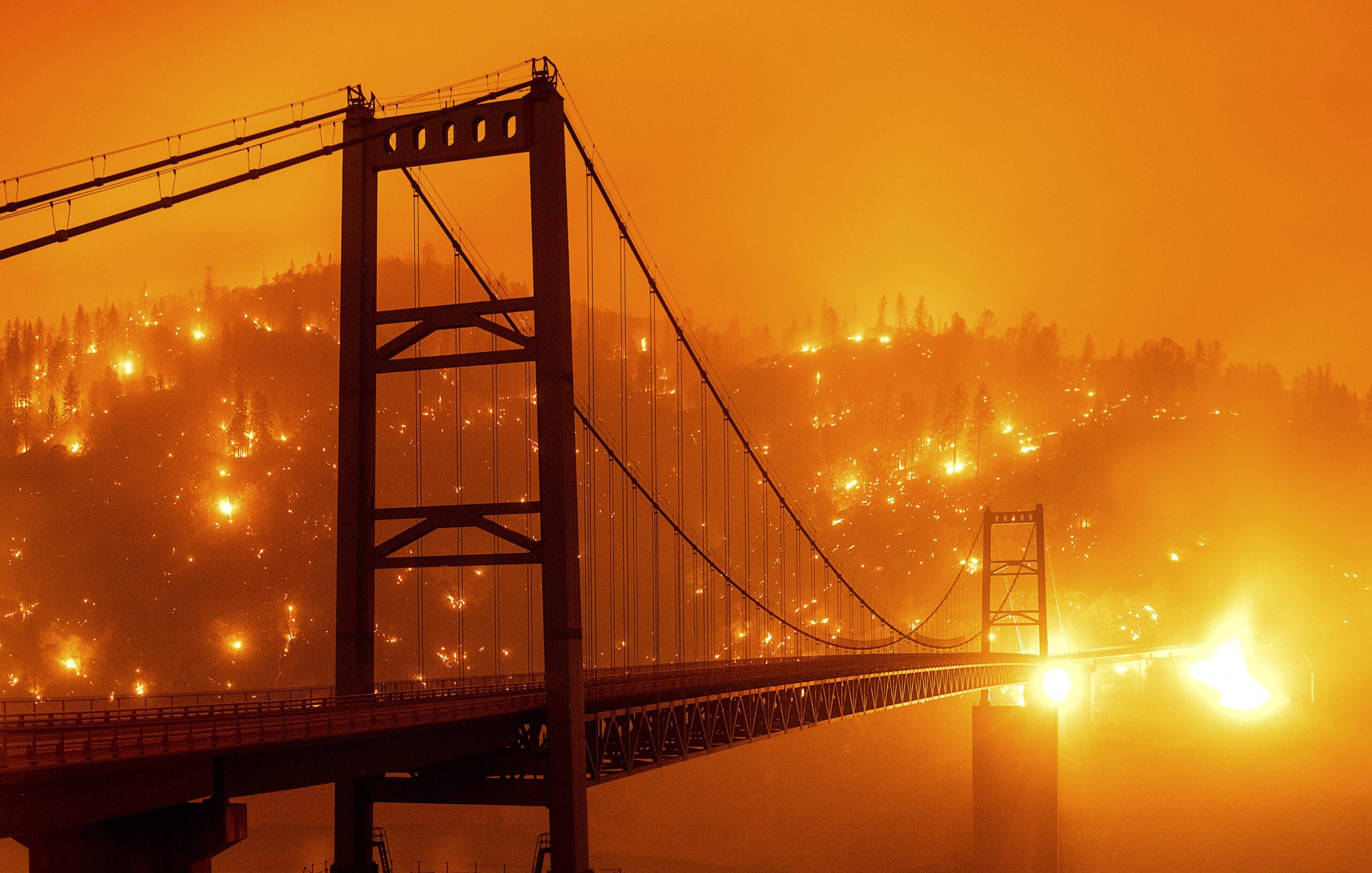 Fogo na Califórnia