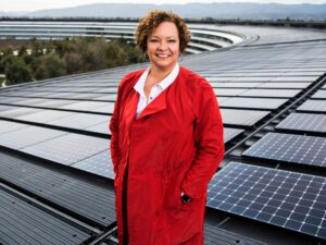 Lisa Jackson no Apple Park