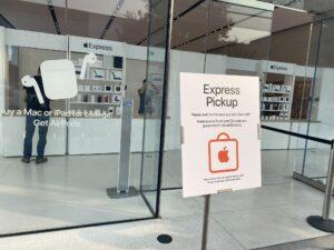 Apple Express na loja de Burlingame