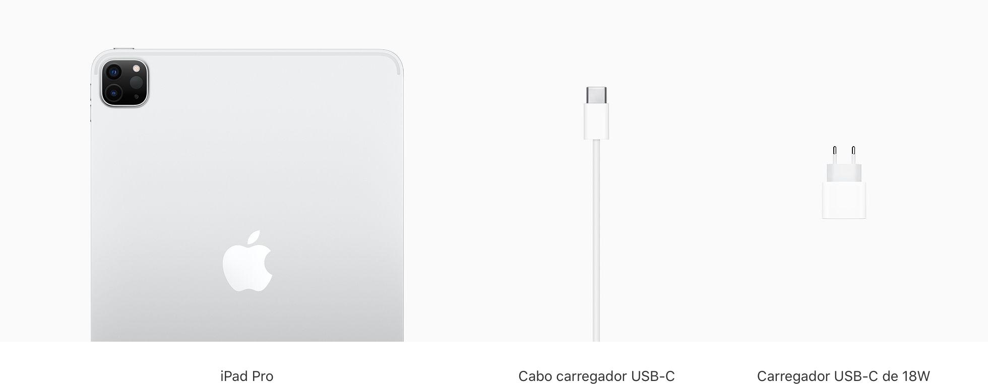 Conteúdo da caixa do iPad Air