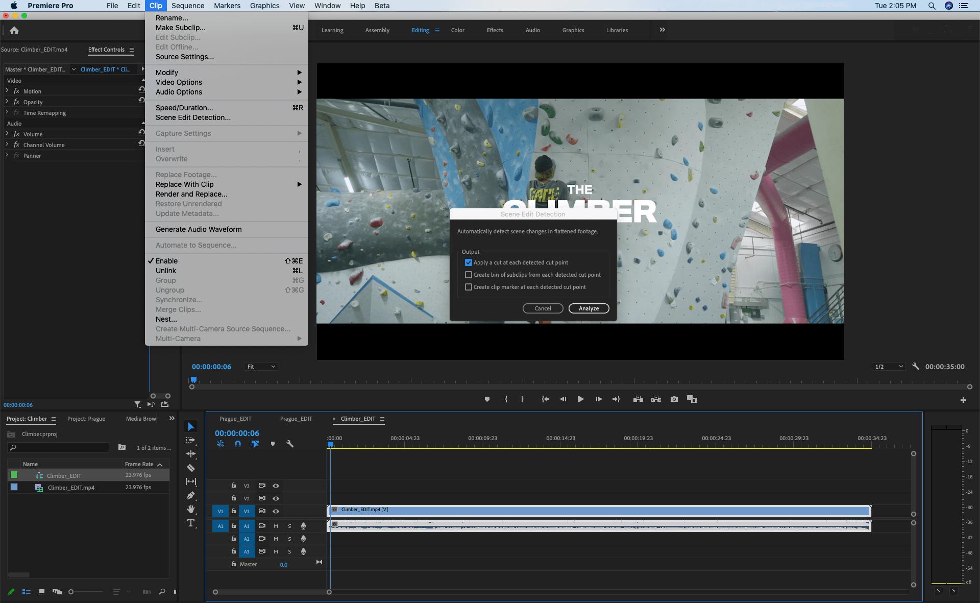 Novo recurso do Adobe Premiere Pro