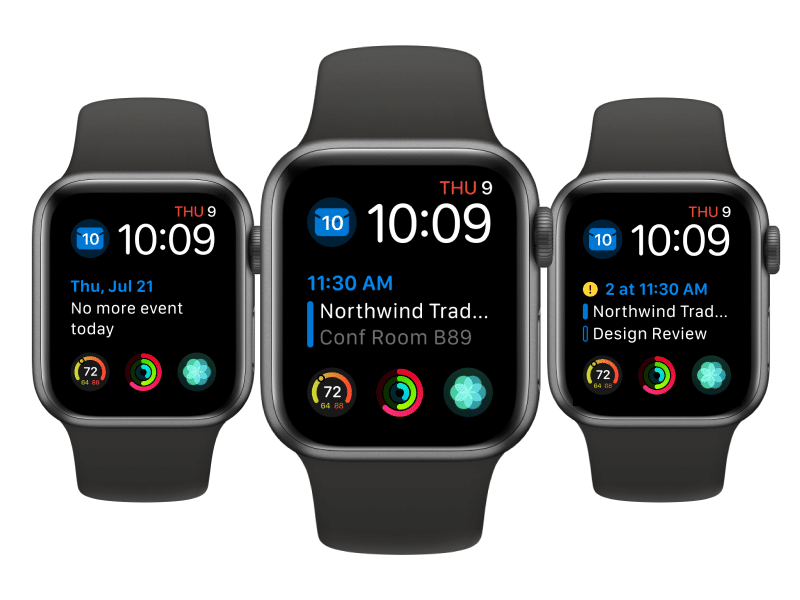 Outlook no watchOS 7