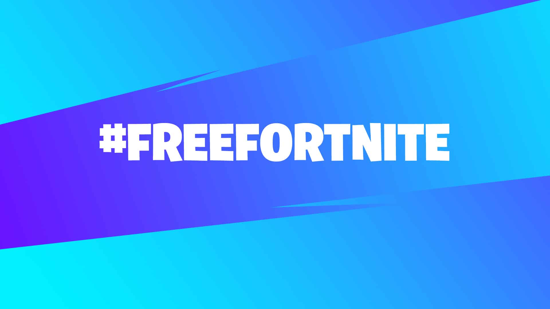 Banner do #freefortnite