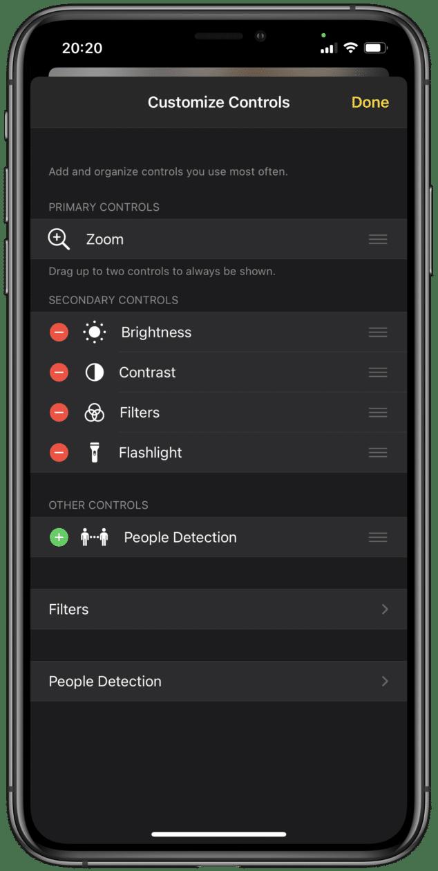 Lupa no iOS 14.2