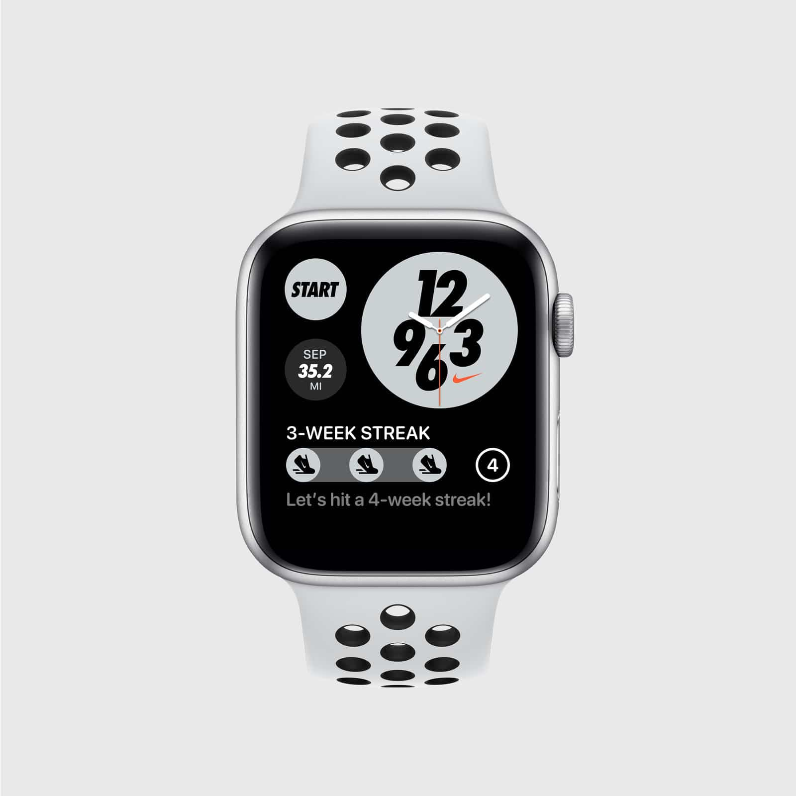 Novos recursos para o Apple Watch Nike