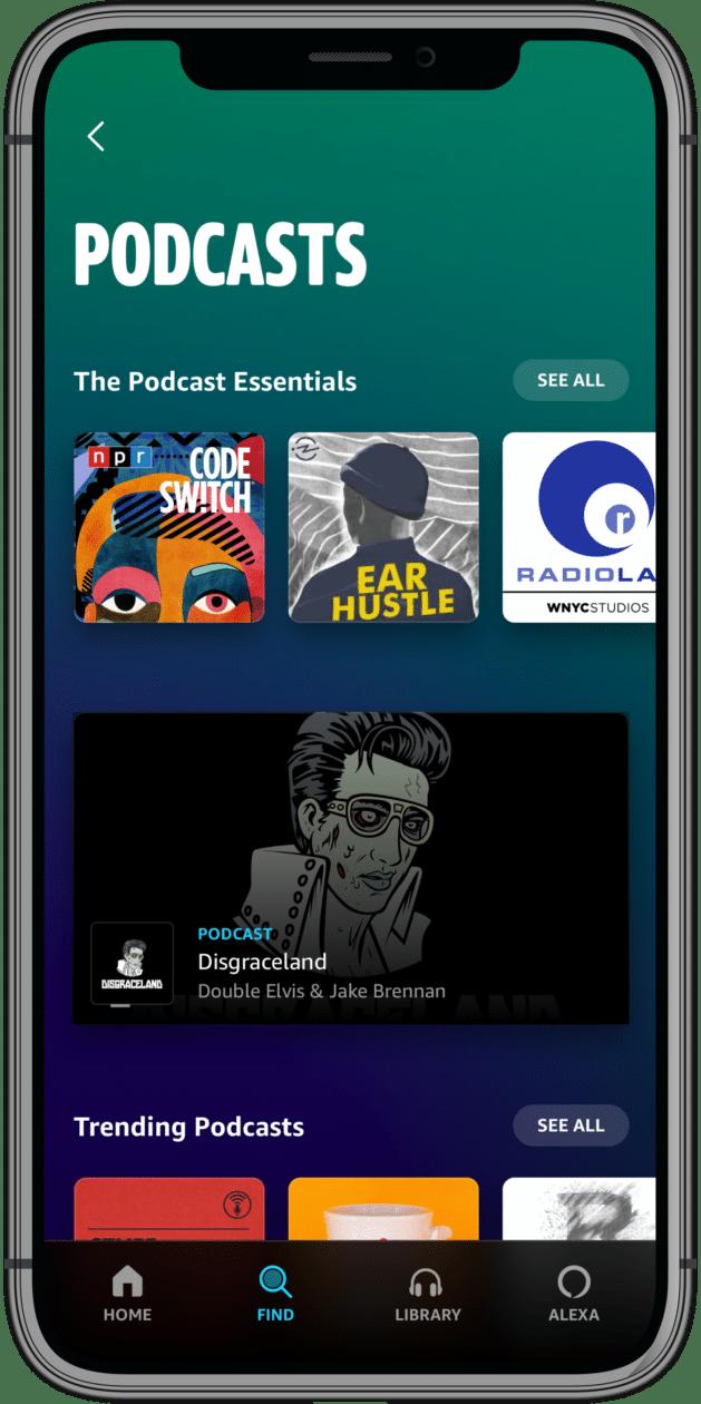 Amazon Music Podcasts