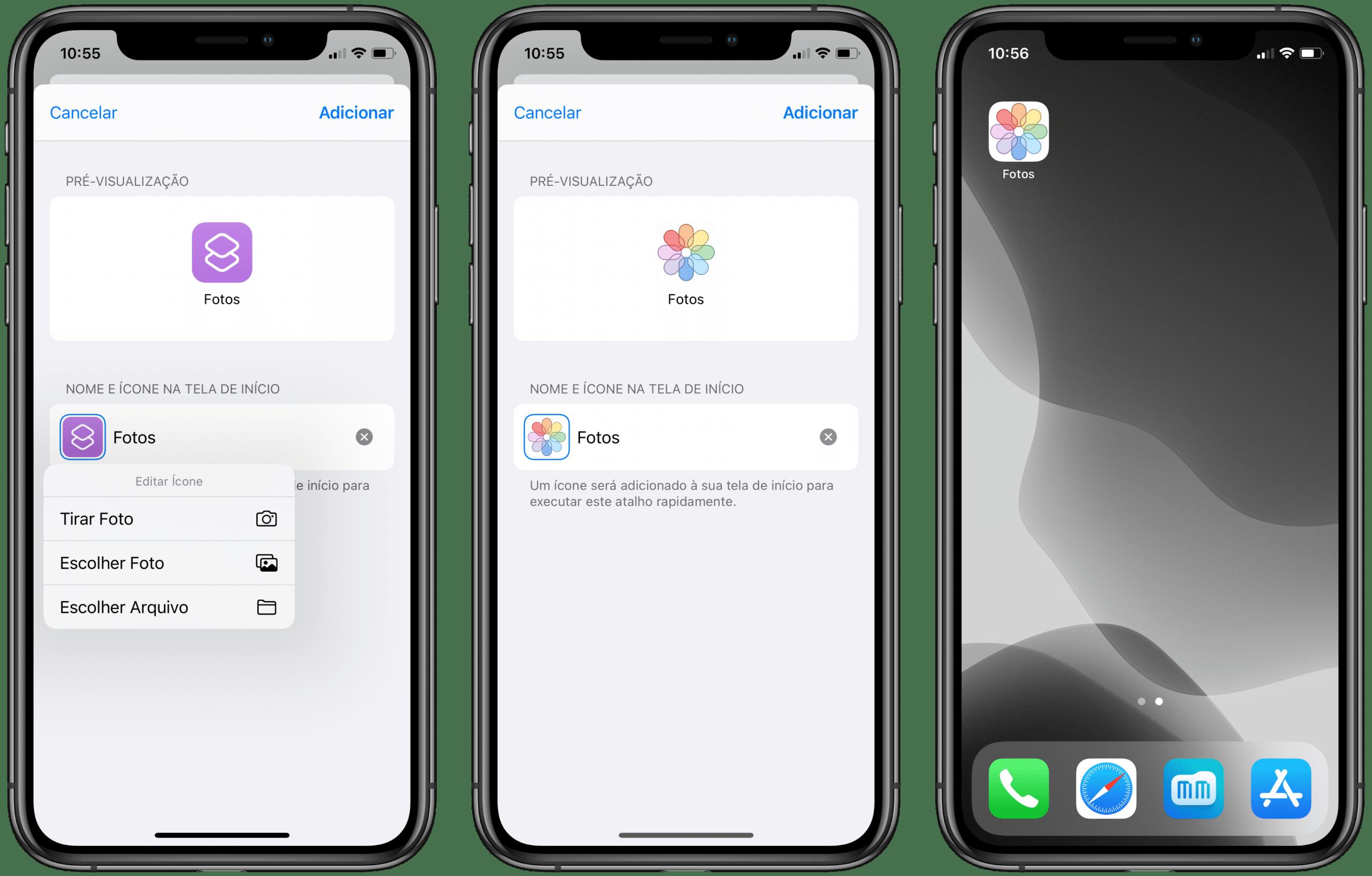 Tutorial: substituir ícones de apps