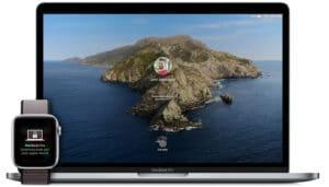 Desbloqueio automático do Mac com o Apple Watch