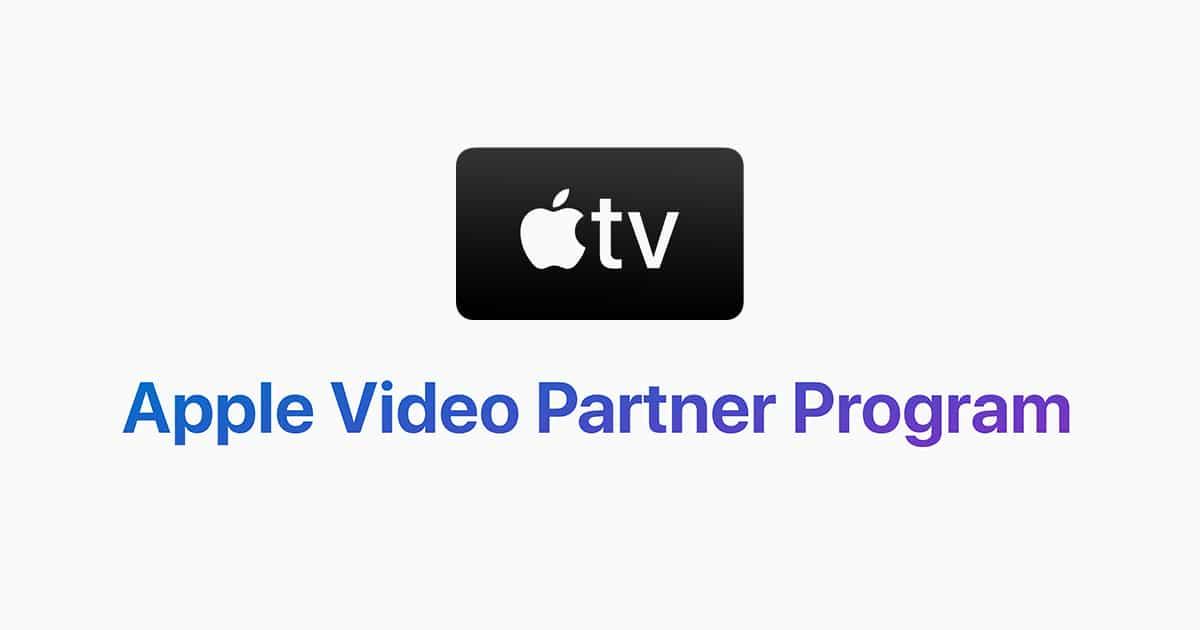 Apple Video Partner Program