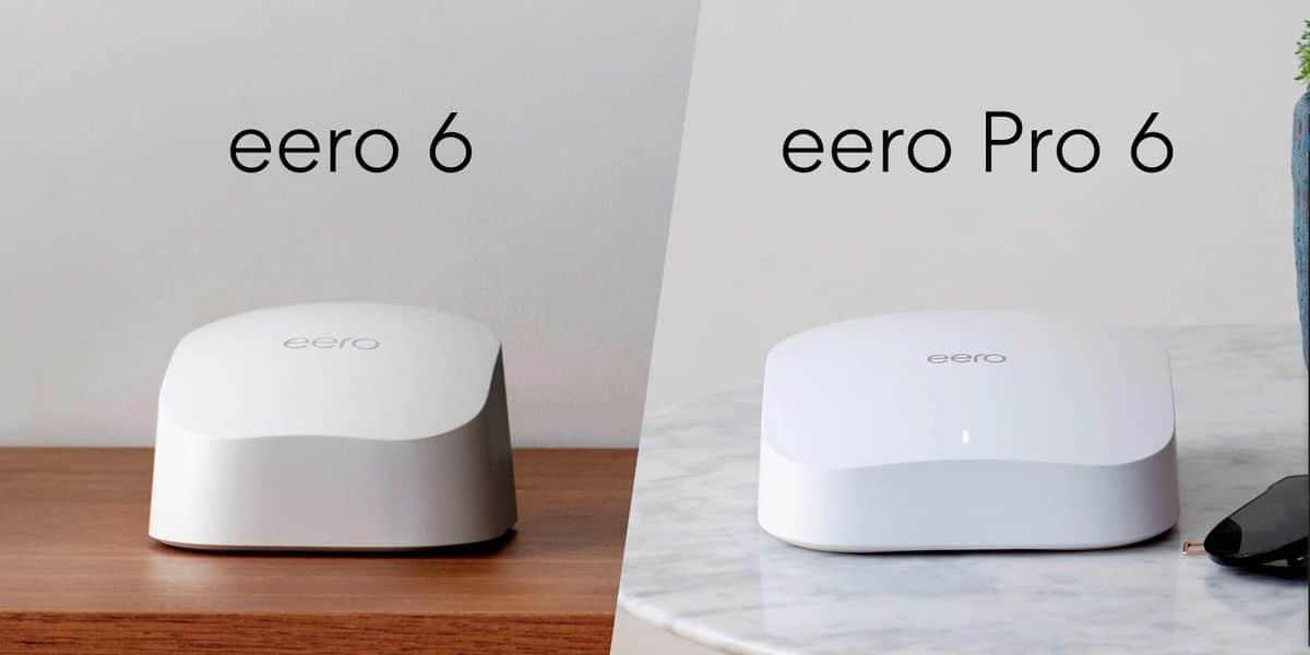 Novos roteadores eero 6 e eero pro 6, da Amazon