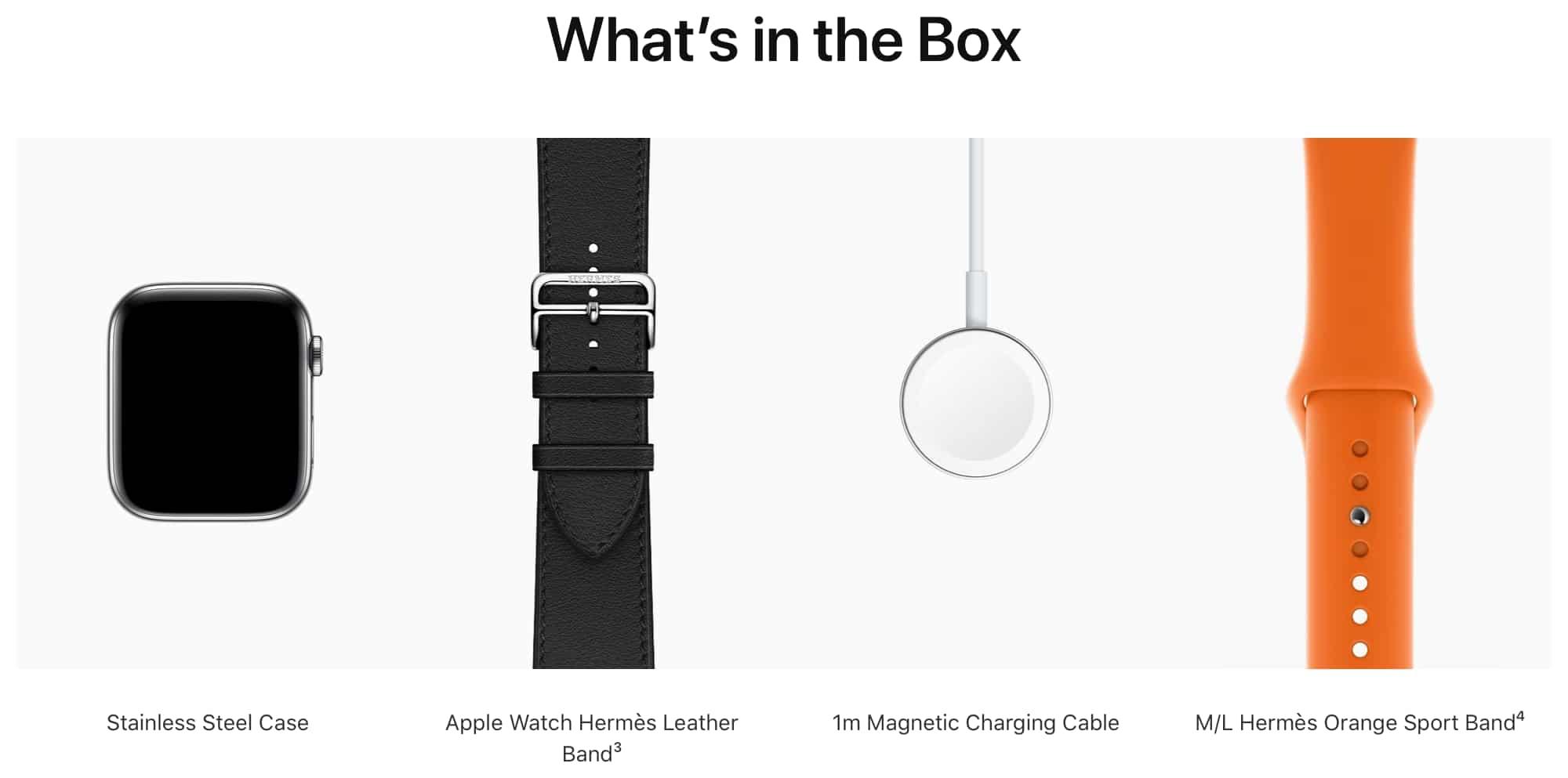 Por coerência, Apple remove adaptador de tomada dos Watches Edition e Hermès