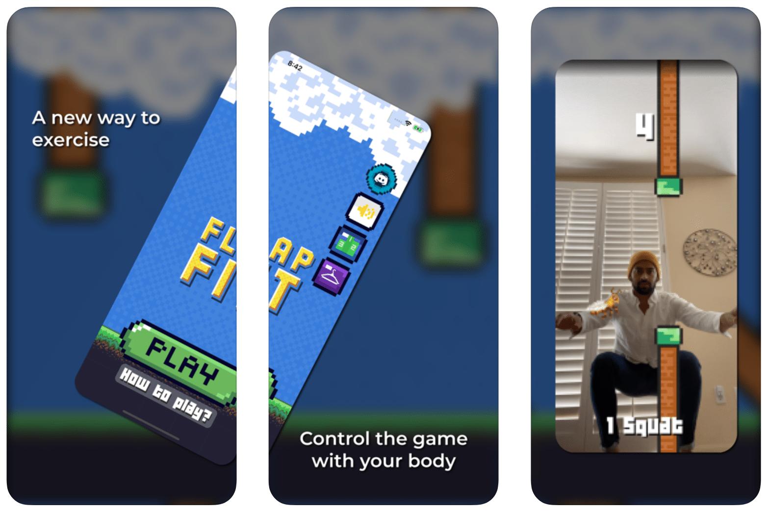 Flap Fit, jogo para iOS