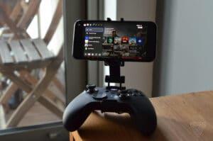 Recurso de transmissão do aplicativo Xbox para iOS