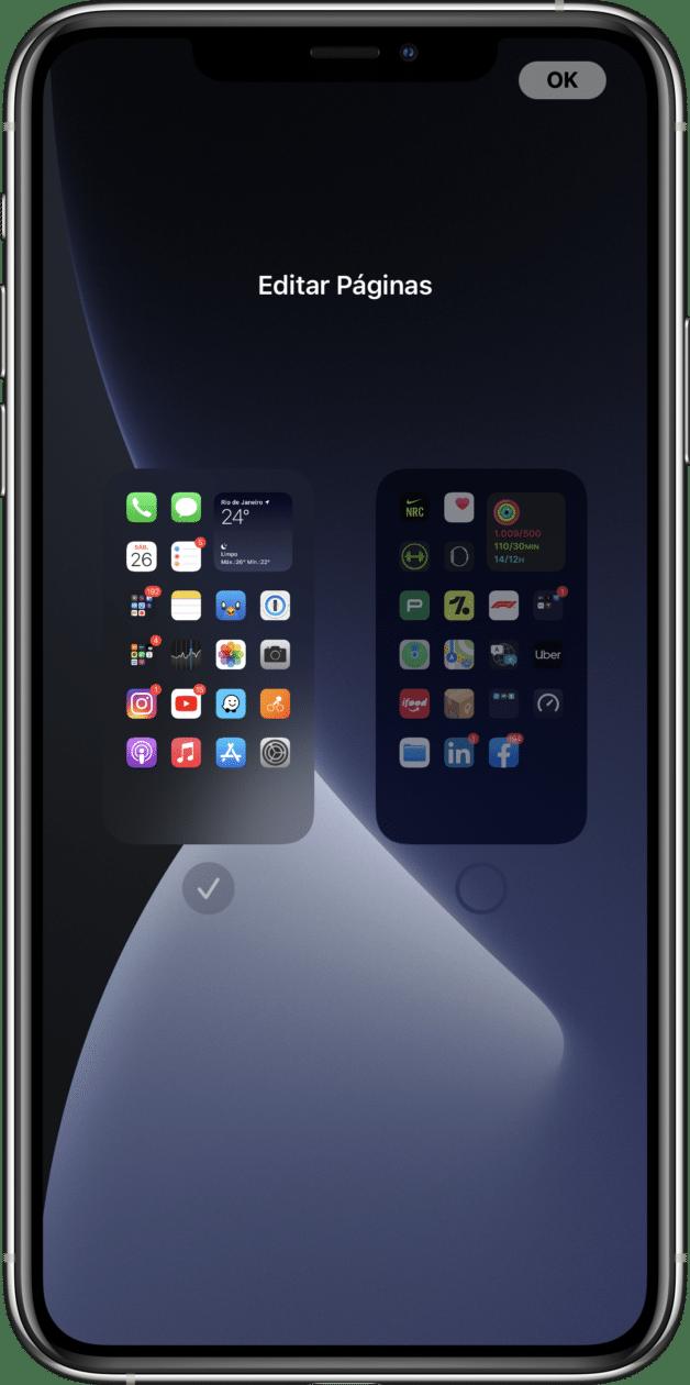 Biblioteca de Apps do iOS 14