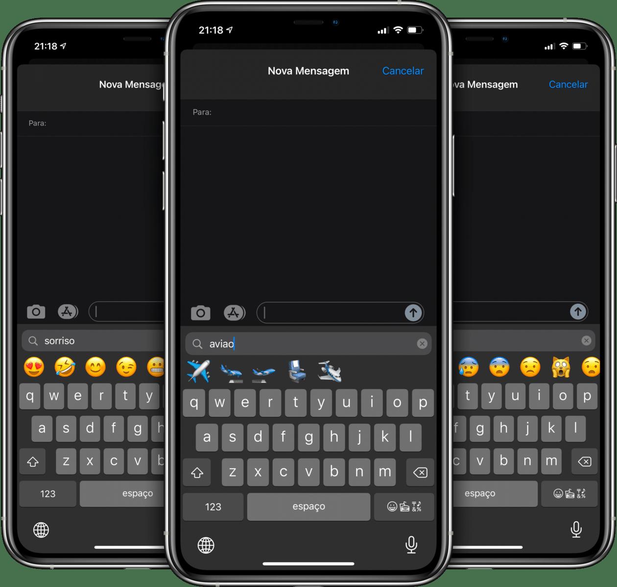 Novos emojis do iOS 14.2