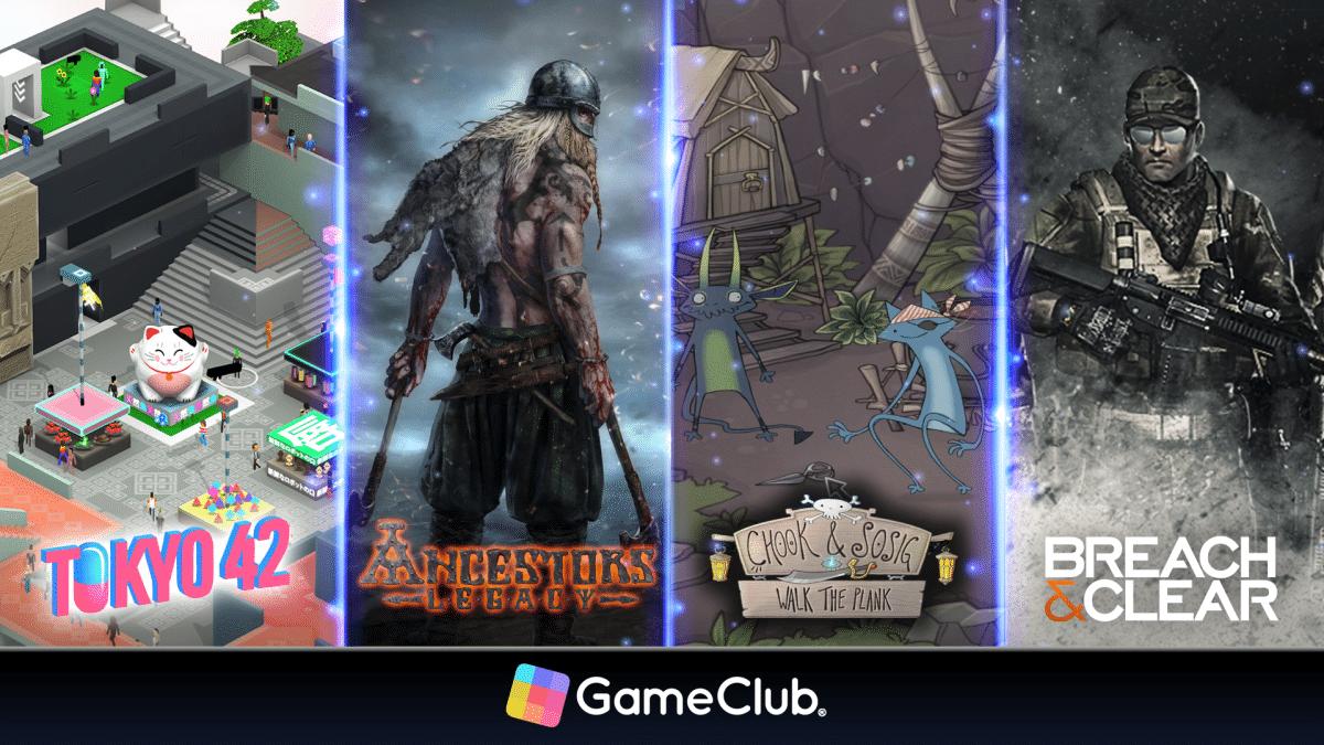 Novos jogos do GameClub