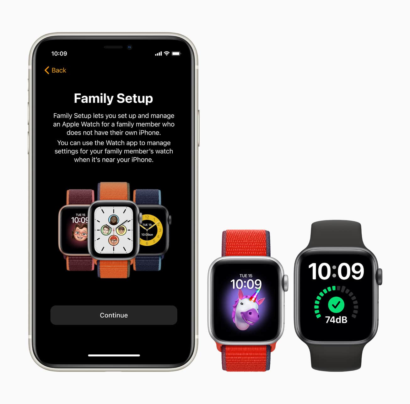Configuração Familiar no Apple Watch