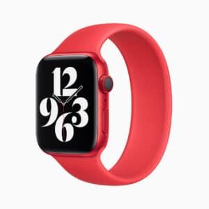 Apple Watch Series 6 de alumínio vermelho (PRODUCT)RED
