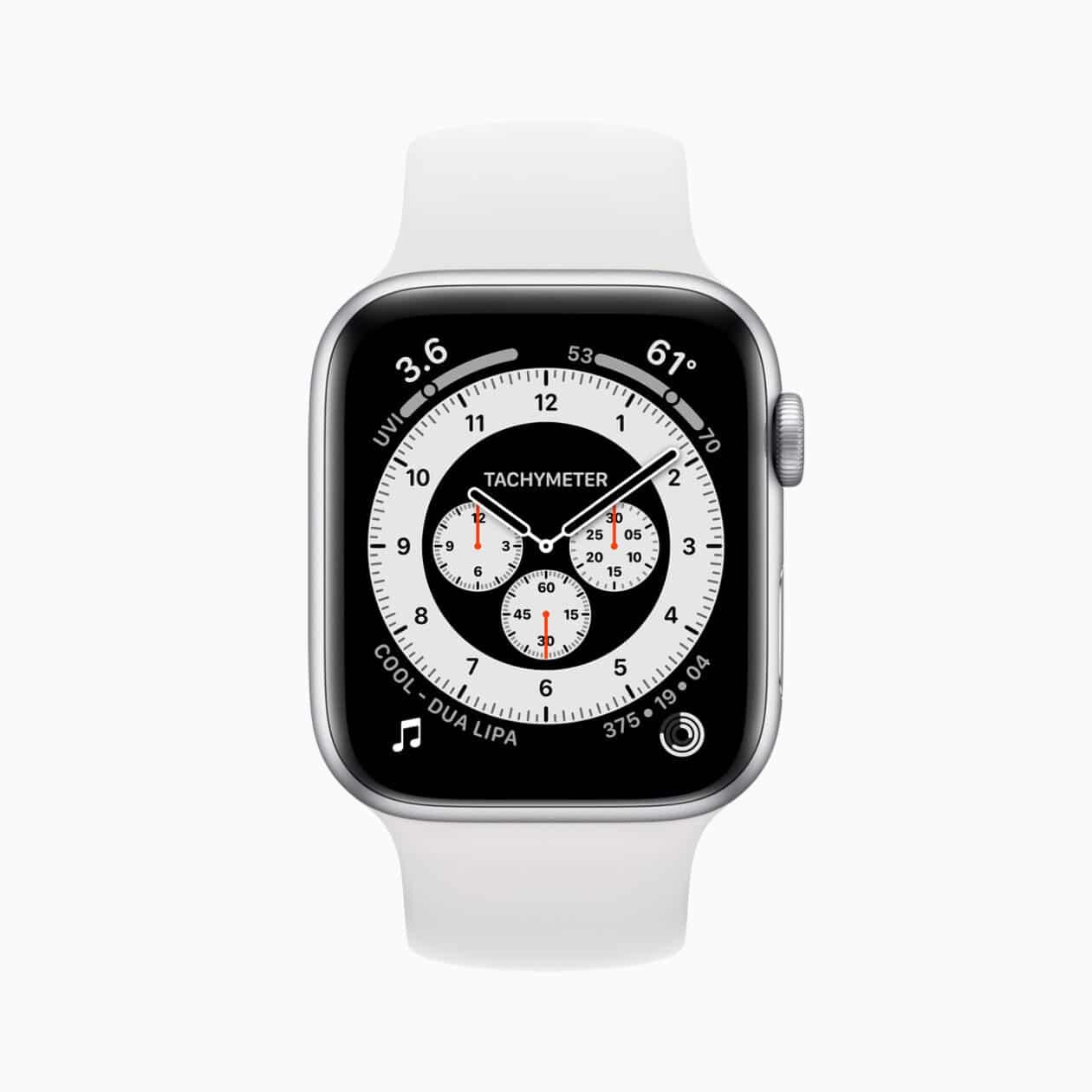 Apple Watch Series 6 em alumínio