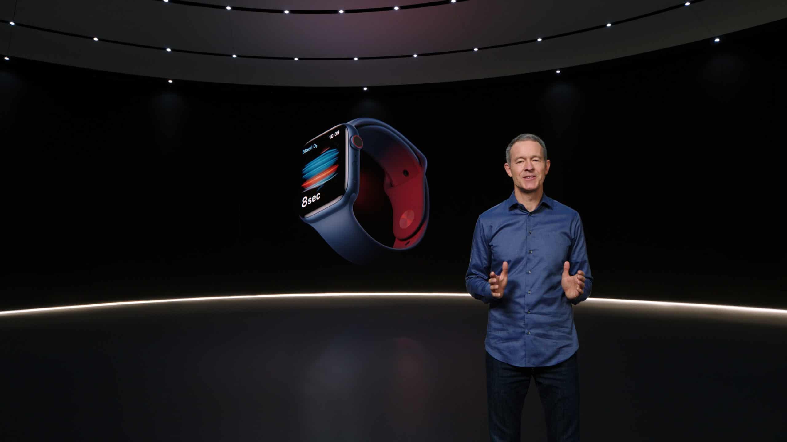 Jeff Williams em keynote do Apple Watch