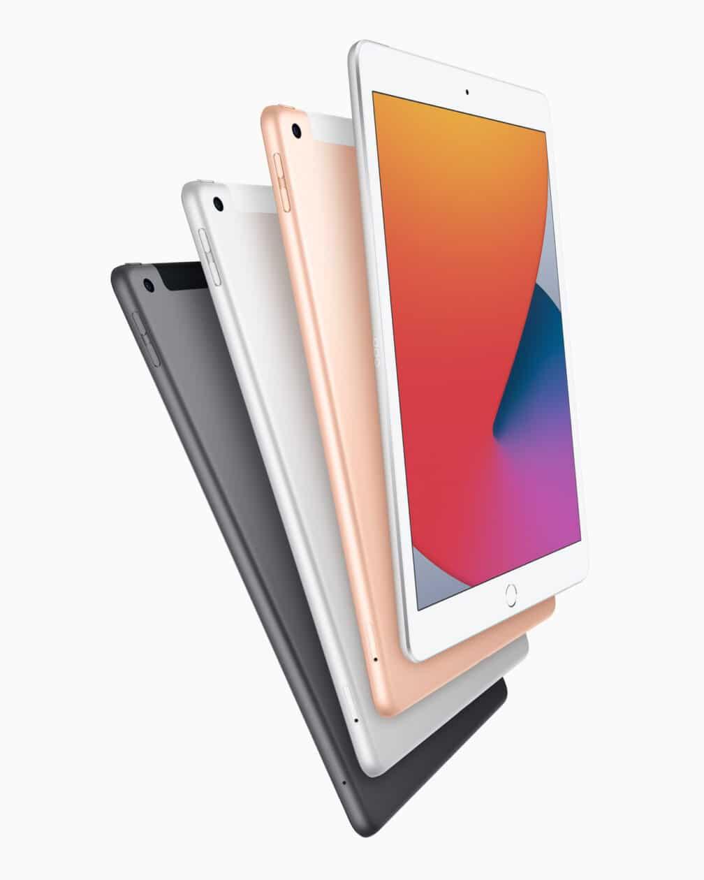 Todas as cores do iPad de oitava geração