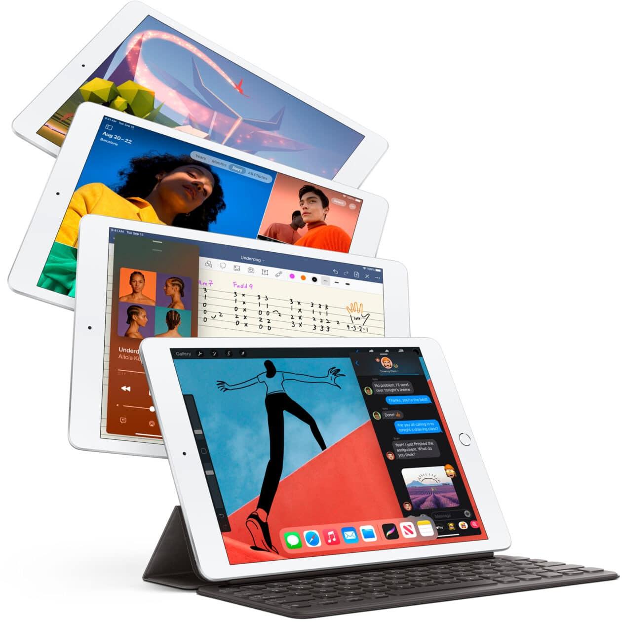 Vários iPads de oitava geração